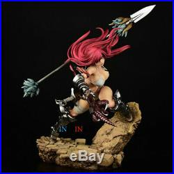 1/6 Scale Unpainted FAIRY TAIL Erza Scarlet Unassembled Resin Garage Kit Model
