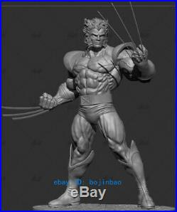 1/6 Scale WOLVERINE Resin Model Kits Unpainted 3D Printing X-MAN Collection