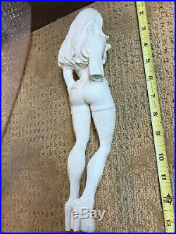 1/6 Sexy Vampire Resin Model Kit in Stockings, High Heels 13 inches plus base