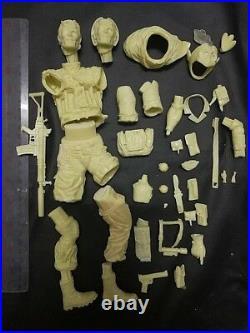 1/6 Venom Snake Metal Gear Solid Game Figure Unpainted Unassembled Resin Kit