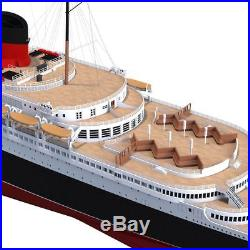 1/700 Blue Ridge Models SS Normandie / USS Lafayette Model Kit