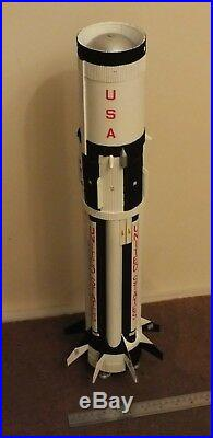 1/72 Apollo Saturn 1B built resin scale model rocket kit NO APOLLO version