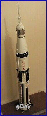 1/72 Apollo Saturn 1B resin unbuilt scale model rocket kit