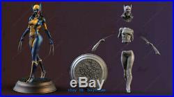 1/8 H25cm Female Wolverine X-23 Figure Resin Model Kits Unpainted 3D Printing