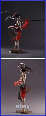 1/8 Resin Figure Model Kit Japanese Sexy Girl Samurai Warrior Unassamb Unpainted