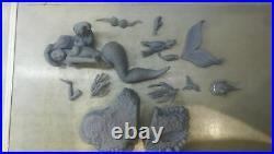 1/8 Sexy Ariel Little Mermaid Diorama Resin Figure Garage Kit SFW & NSFW