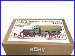 2019! Truck FAUN L900 D567 Wespe 116 lorry LKW camion resin kit model 16011