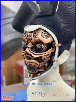 20cm Ghost in the Shell Geisha Robot Bust Resin Model Kits Unpainted 3D Printing