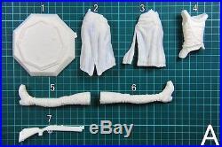 23 cm 1/7 Griselda Girl Women Female Resin Model Garage kit Unpainted