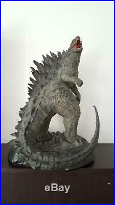 24 inches godzilla Stand on Base Hobby Model Resin Kit Garage Cast unpainted