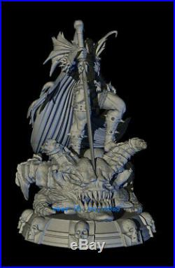 32cm H SPAWN Figure Resin Model Kits Unpainted 3D Printing Anime Collection