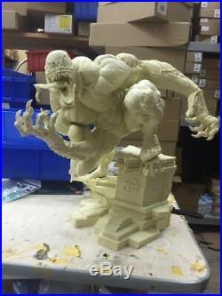 33cm high unpainted and unassembled venom, resin model kit