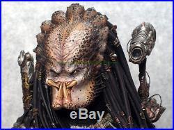 34cm Unpainted Resin Alien Elder Predator Figures Model Unassembled Garage Kit