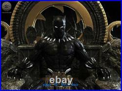 45cm Black Panther Throne Resin Model Kits Unpainted 3D Printing