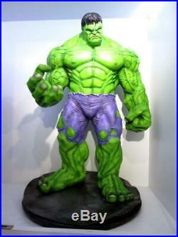 60 cm. Hulk Resin Model Kit Stand on base unpainted and unassembled cast