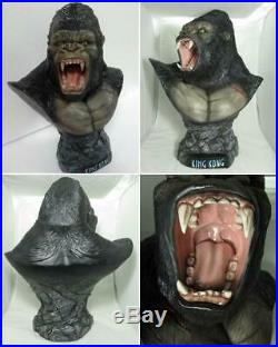 60 cm. King Kong Bust Resin Garage Model Kit Cast Hobby Unpainted Unassembled
