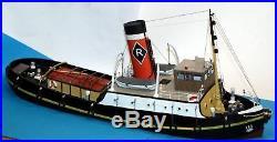 96ft Estuary Steam Tug Boat OO Scale 176 UNPAINTED Kit MB26 Langley Models