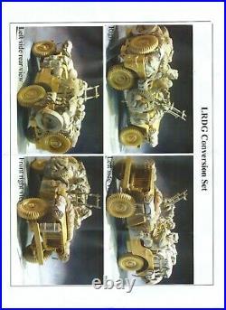 AC Models LRDG Conversion set 75mm 2 figures + stowage Unpainted resin kit