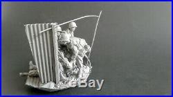 AC Models USMC US Marines Hue Vietnam 4 figures + base 75mm Unpainted resin kit