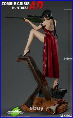 Ada Wong Statue Resin Figure Model GK Not GREEN LEAF Painted 1/4 Presale GLS006