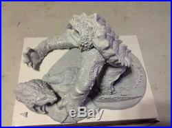 Alligator snapping turtle resin model kit Beast of Busco cryptid reptile snapper
