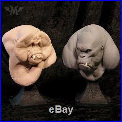 Andy Bergholtz Ape 2 Pack Translucent Resin Busts Set