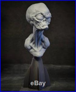 Andy Bergholtz Greylien Grey Alien Translucent Resin Bust