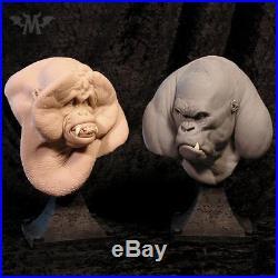Andy Bergholtz Louie Orangutan Ape Translucent Resin Bust