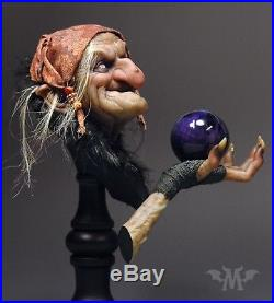 Andy Bergholtz Maleva The Spell Witch Translucent Resin Bust