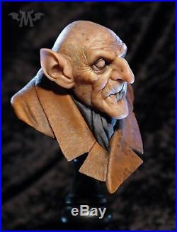Andy Bergholtz Orlok Nosferatu Translucent Resin Bust