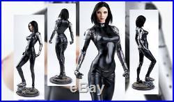 Animate model resin kit figure nude women sculpt Alita Battle Angel