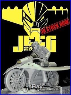 Anime Model Resin Kit Jeeg Robot  Hiroshi Shiba on the Bike 18
