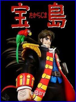Anime model resin kit Treasure Island Takarajima John Silver