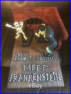 Aurora Monster Scene with Abbott and Costello with Frankenstein Resin Model