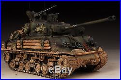 Award Winner Built 1/35 Brad Pitt M4A2E8 Fury Diorama +Resin/PE+Tracks+Figure
