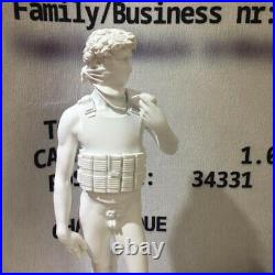 BANKSY Suicide David Medicom Toy Ceramics Art Statue Sculpture Figure Model