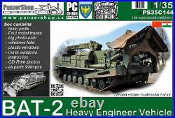 BAT-2 Soviet Heavy Engineer Vehicle 1/35 PanzerShop C144HT complete resin kit