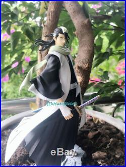 BLEACH Kuchiki Byakuya Figurine Statue Painted Model Collection Garage Kit GK
