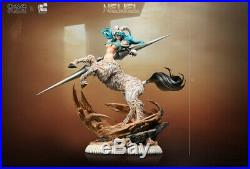 BLEACH Neliel Tu Oderschvank Statue Resin Model Kit GK Figurine Painted Pre-OD