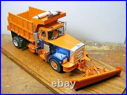 BROCKWAY DUMP TRUCK WithSnow Plow 1/25th Scale By A. I. M. Resin Cast PRICE REDUCED