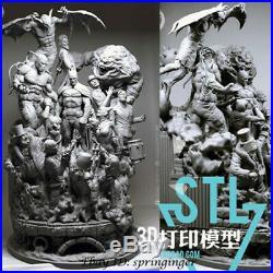 Batman Sanity Unpainted Resin Kits Model Statue GK SLA New 30cm