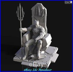 Batman Unpainted Resin Kits Model GK Figurine Statue 3D Print 30cm
