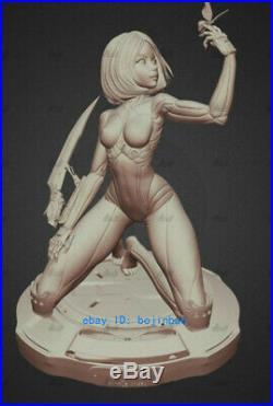Battle Angle Alita 30cm Statue Resin Model Kits Unpainted 3D Printing Garage Kit