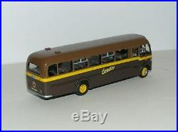 Bedford SB Duple Midland'Carruthers of New Abbey' bus kit built model