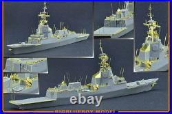 Bigblueboy PE resin 1/700 Spanish Aegis Frigate F-100 Alvaro De Bazan 71006