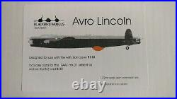 Blackbird Models 172 Avro Lincoln Model Resin Conversion Set #BMA72007