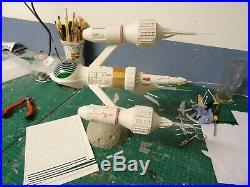 Blake's 7 Liberator space craft mixed media resin model kit science fiction