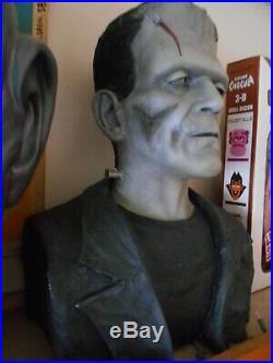 Boris Karloff Bride of Frankenstein 11 bust ltd to 20 resin model kit monsters