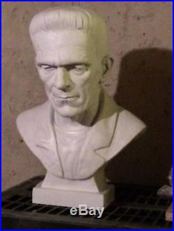Boris Karloff Bust Frankenstein 1931 Life-Size Resin Model Kit StannArts