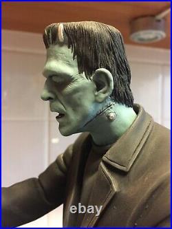 Boris Karloff Frankenstein Resin Monster Model Built And Painted 1/6 Scale